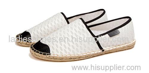 new design custom fashion flat line-soled canvas shoes