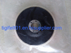 100% wool felt polishing wheels