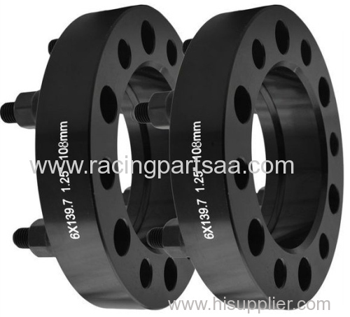 sizes-lazered black wheel spacer