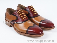 customed design men leather shoes mens offices shoes