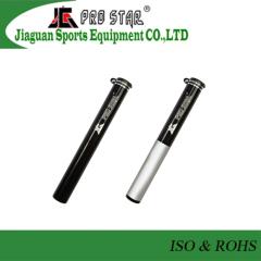 High Quality Pocket Aluminum 6063 Bike Pump Using Hidden Flexible Hose