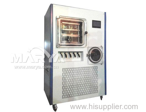 Pilot vacuum freeze dryer lyophilizer