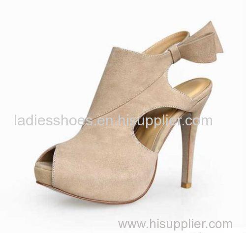 high heel sling back peep toe fashion high heel women boot