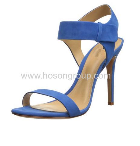 Fashion velvet stiletto dress sandals