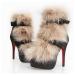 european design platform high heel boots for ladies fashion women side zipper boot