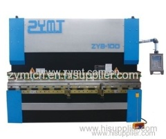 ZYMT 67K-100T/4000 Hydraulic torsion bar press brake machine