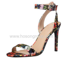 New style open toe sling back high heel sandals