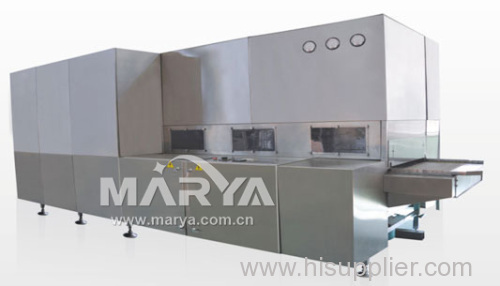 Pharmaceutical sterilizing and drying machine
