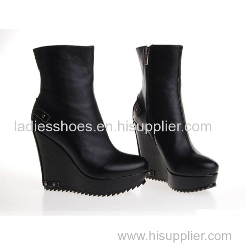 New low MOQ china Extreme high heel boot and booties/women short boots