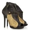 تصنيع المعدات الأصلية وتصميم الأزياء زقزقة اصبع القدم ارتفاع كعب الحذاء