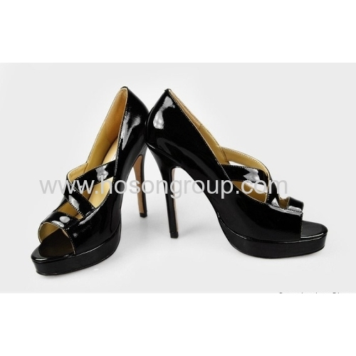 Fashion peep toe caged sandals