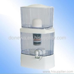 Mineral stone water filter