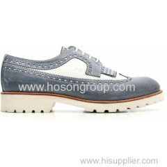 New Fashion Ladies Causal Shoes with Lace up