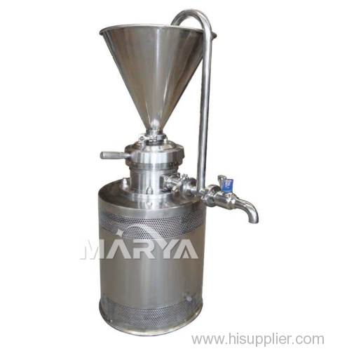 Vertical Colloid Mill Used for Various Industries