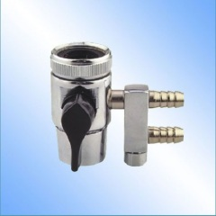 Feeding water diverter adapter