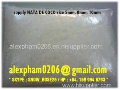 NATA DE COCO / Raw Nata De Coco / coconut jelly / buddle tea