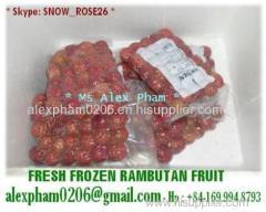 Fresh Frozen Rambutan/ Lychee/ Mango/ Jackfruit/ Passion fruit/ Lime/ Avocado