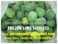 FRESH FROZEN LIME SEEDLESS / green lime/ calamansi