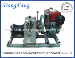 Tower Erection Motorised Winch for transmission line construction