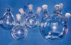 different kinds of quartz flasks