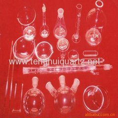 all kinds of quartz laboratory apparatus