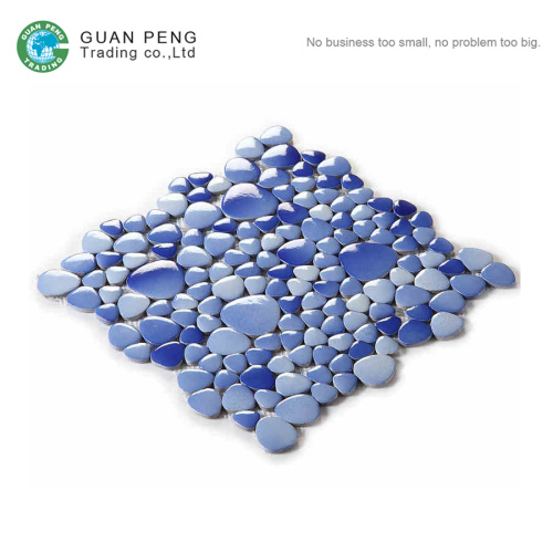 The Best Type Of Ceramic Glass Pebble Mosaic Tile Pools Bathroom Floor Tiles