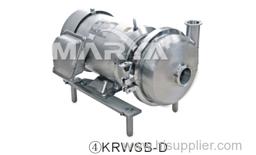 Sanitary Centrifugal Pump used in Pharmaceutical and Food Industries