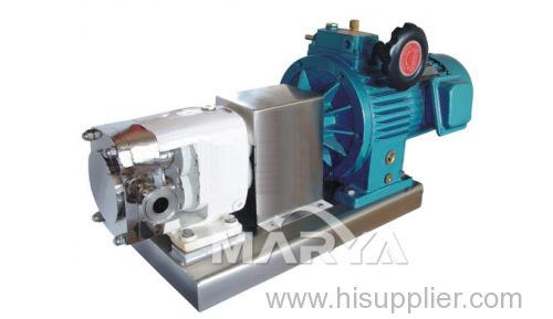 Industrial Sanitary Cam Rotor Pump
