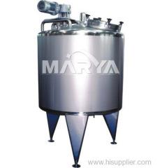 Mixage Tank en industries pharmaceutiques et alimentaires