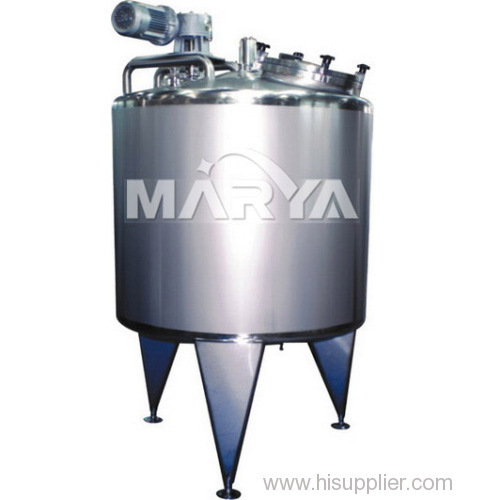 Mixing Tank Used in Pharmaceutical and Food Industries