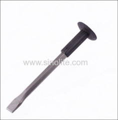 Rubber handle flat cold chisel 20x300mm