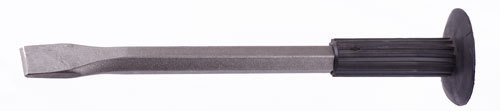 Cold Chisel Flat 20x300mm with Rubber Handle