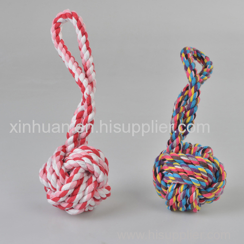 Hand OF Cotton Rope Ball