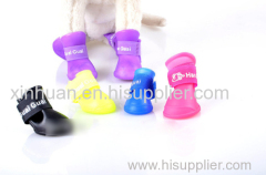 Waterproof Latex Dog Rain Shoes EE