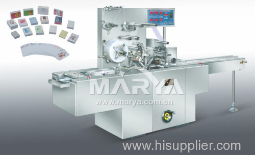 Transparent membrane three dimensional packaging machine linkage line