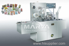 Transparent membrane packaging machine linkage line