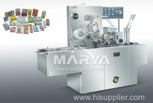Transparent membrane packaging machine linkage line