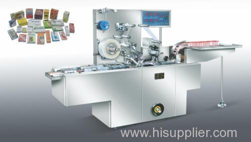 Transparent membrane packaging machine