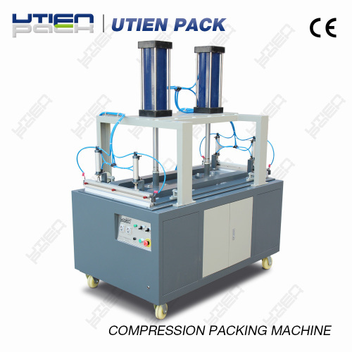 automatic vacuum compression packaging machine from china manufacturer utien pack co ltd. Black Bedroom Furniture Sets. Home Design Ideas