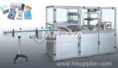 Transparent membrane three dimensional packaging machine