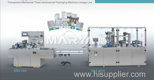 Transparent membrane packaging line