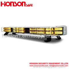 new arrival double row Led warning lightbar strobe light bar for police car