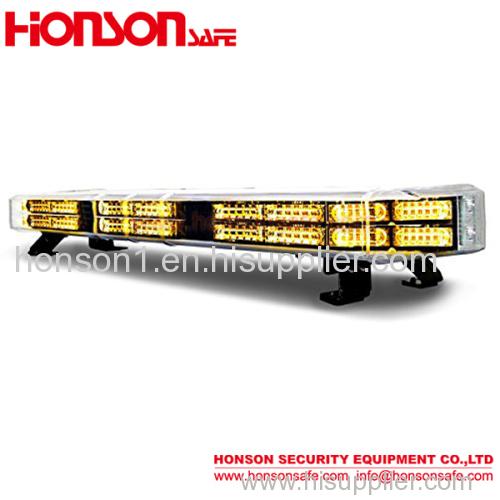 new arrival double row Led warning lightbar strobe light bar for police car