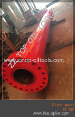 Wellhead 5500 mm length riser spool