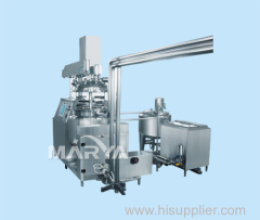 Suppository Vacuum Emulsification Complete Equipment
