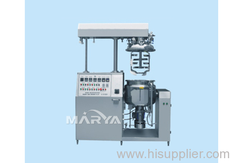 Vacuum Emulsifier with Inner-Outer Circulation System Emulsification Machine
