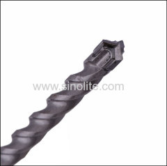 SDS plus shank 3 cutter carbide head hammer drill bit