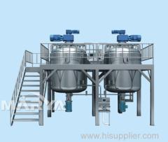 Bottom Homogeneity Vacuum Emulsifier