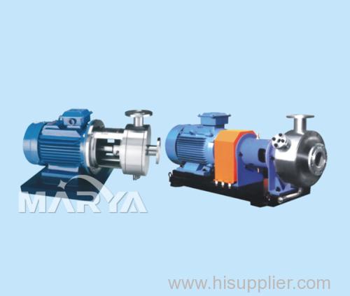 Pipeline Type High Shear Dispersing Emulsifier Emulsification Machine