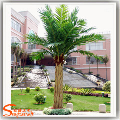 special design Seaweed palm tree unique artificial Silver Date palm Tree